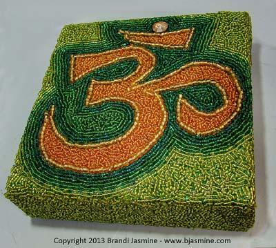 Om Symbol in Beads