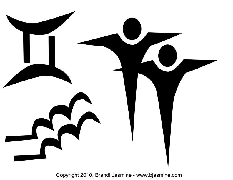 Gemini Zodiac Sign Pumpkin Carving Pattern Brandi Jasmines Emporium