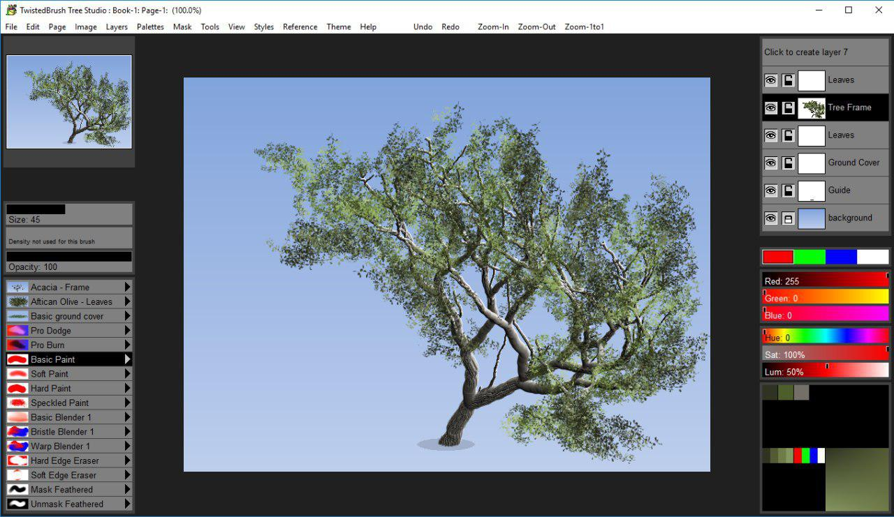 Pixarra Tree Brush Studio Review