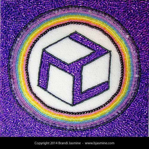 Antahkarana Reiki Symbol in Beads