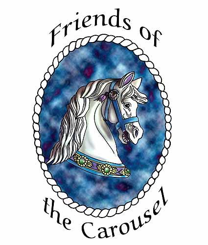 Carousel Digital Illustration by Brandi Jasmine, All Rights Reserved