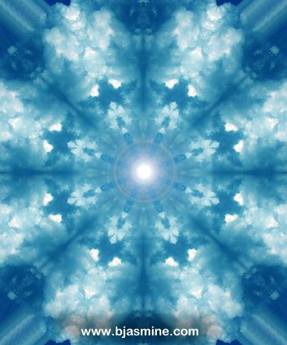 Mandala Digital Illustration by Brandi Jasmine, All Rights Reserved