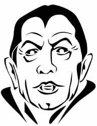 Vampire Jack-O-Lantern Pattern
